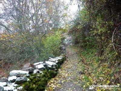 Molino Río Jarama-La Hiruela; ruta cañones del sil viajes puente club viaje de fin de semana